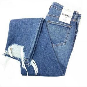 L'agence ultra high rise Loreli jeans NWT sz 26